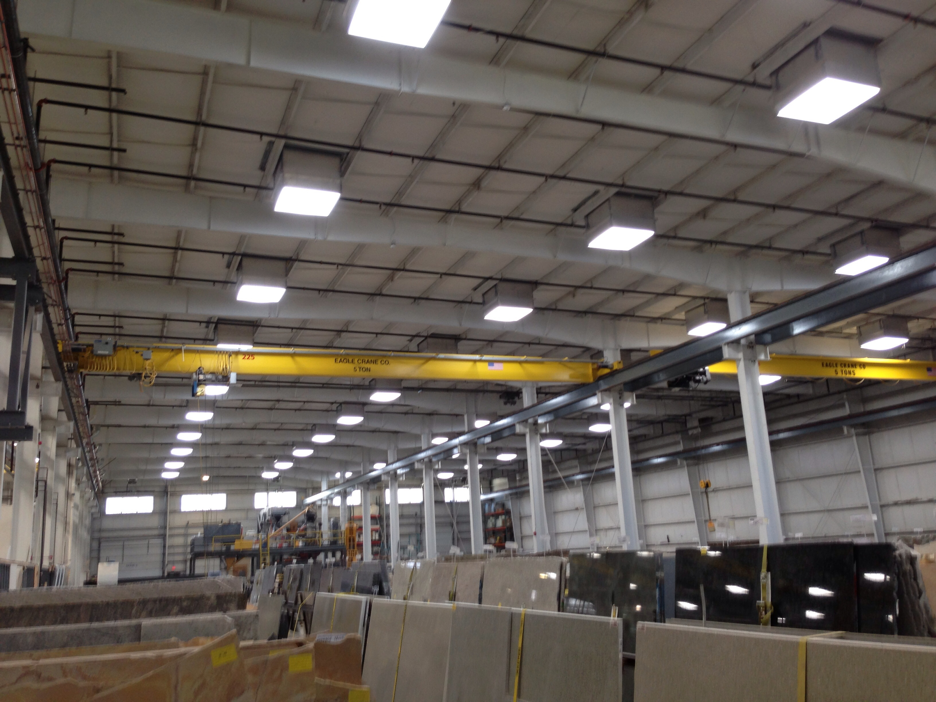 Daylight Harvesting System : Daylight harvesting system for a manufacturing facility